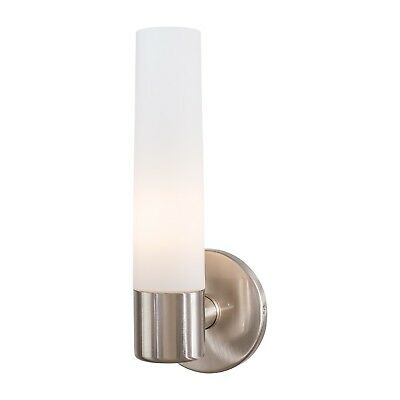 Simply Kovacs P5041 084 Saber 1 Light Bath Fixture Brushed Nickel Ebay
