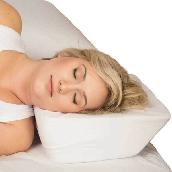 Therapeutica Travel Sleeping Pillow Pillow Pillow Applies Pressure Adjacent To Spinal Column f1931a