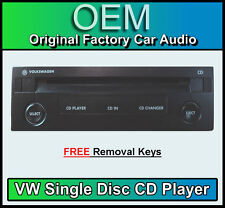 VW Single CD player, Volkswagen Bora GAMMA/BETA Radio Cassette