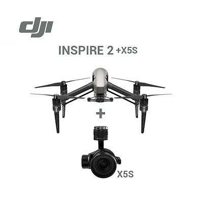 DJI Inspire 2 2.4Ghz Drone Quadcopter with Zenmuse X5S HD 4K Camera & Case