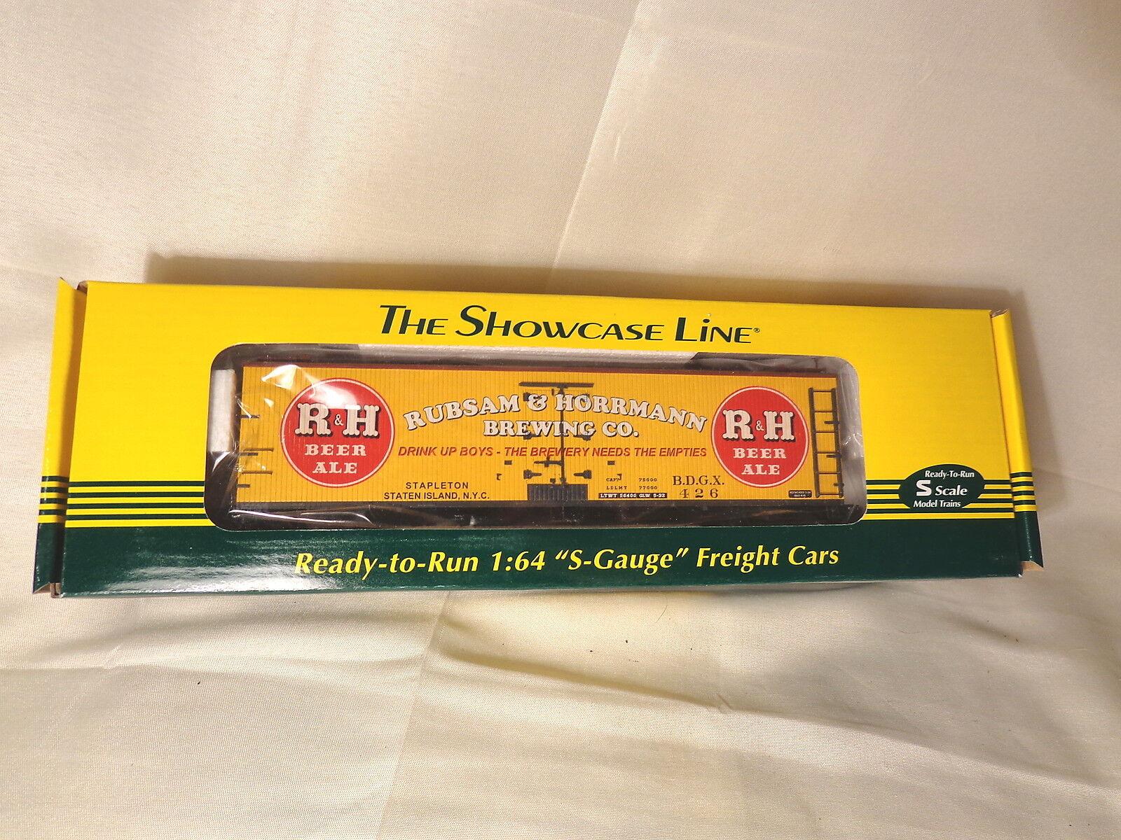 S-Helper Service  01949 R&H Beer Reefer BDGX 426    S Gauge   Boxed