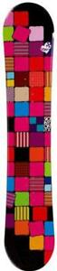 385-144cm-Sionyx-Quilt-Women-039-s-Red-Blk-Camber-Snowboard-Burton-Decal-NEW-RMT7
