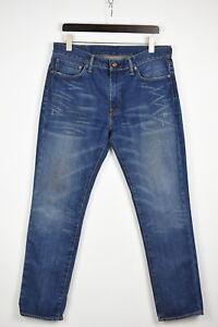 LEVI STRAUSS & CO. 511 Men's W36/L32 Slim Fit Fade Effect Blue Jeans 37024-GS