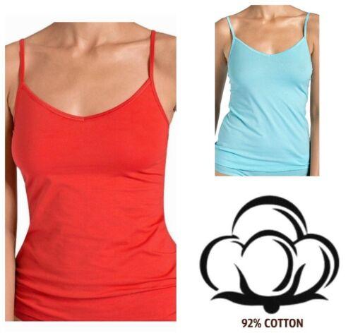 Sloggi EverNew Shirt 01 95/% Cotton Red Light Blue S M L XL
