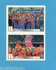 FIFA 365/2016-PANINI ITA-Figurina n.25/26- BARCELLONA 2011+BAYERN M. 2013 -NEW