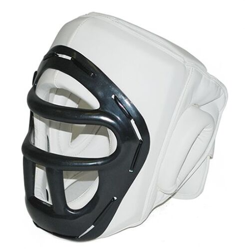 FAST SHIPPING Taekwondo,Boxing//MMA Head Gear with Face Protector for Karate