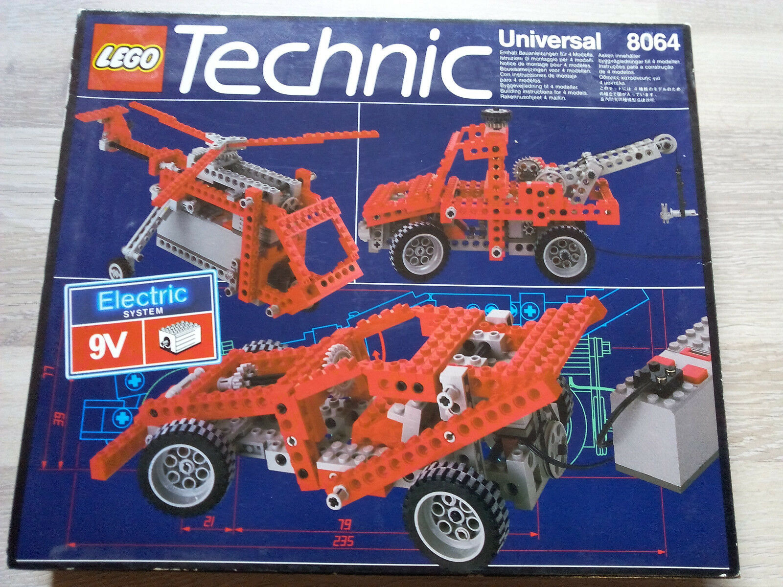 Lego Technic Technik 8064 Universal 9V Motor Set   NEU & OVP - RARITÄT