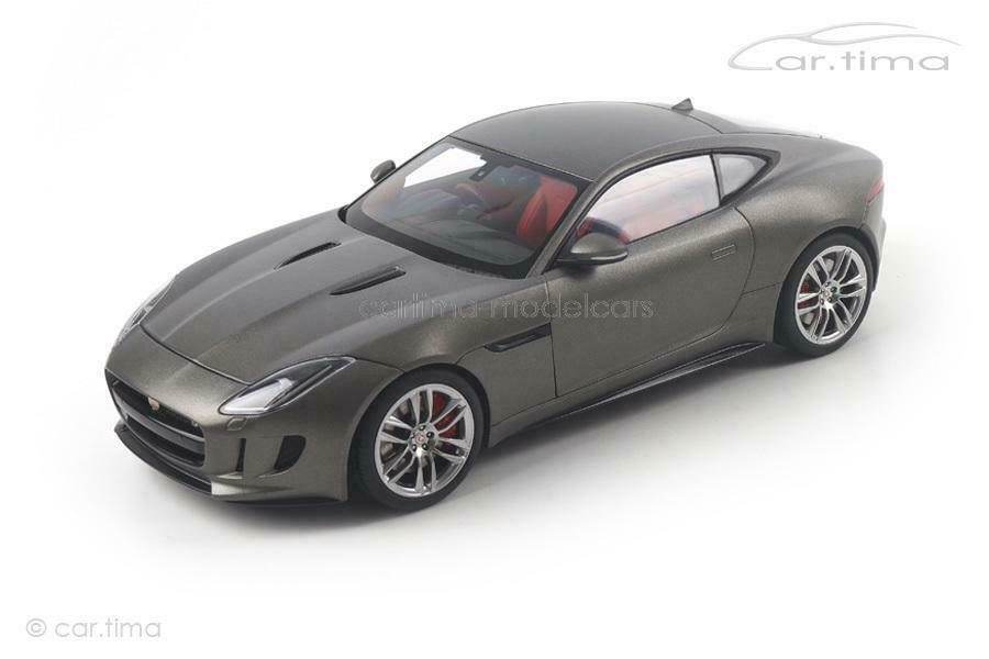 Jaguar F-Type R Coupe 2015 - matt grau - AUTOart - 1 18 - 73654