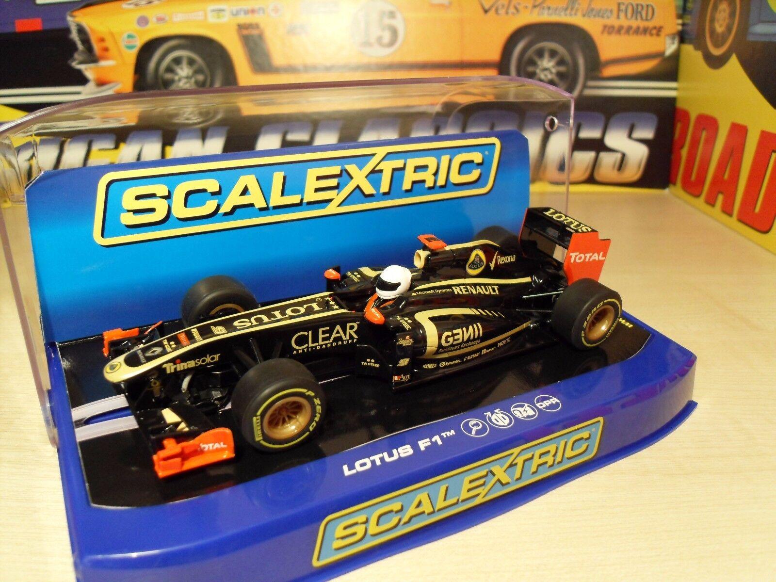 Scalextric C3262 LOTUS F1  Kimi Raikkonen  - Brand New in Box