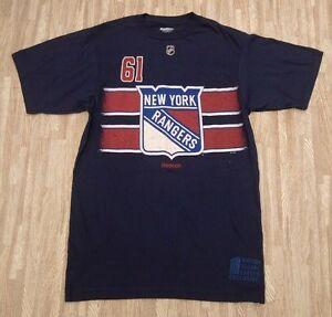 New York Rangers  61 Rick Nash Reebok NHL Hockey Shirt ~ Men s Small ... c68293be6