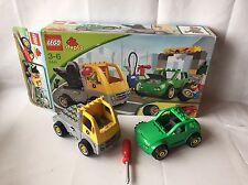 LEGO Duplo Toolo Auto Werkstatt mit Reifenwechsel - LKW Abschlepper -Set 5641