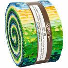 "Artisan Batiks Sunny Day Roll up 40 2.5"" Strips - Robert Kaufman"
