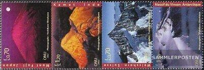 Genf 440-443 Viererstreifen Postfrisch 2002 Jahr Der Berge kompl.ausg. Audacious Uno