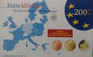 KMS Deutschland 2007 kompl. Jahrg. (A,D,F,G,J) Hart-Cover PP