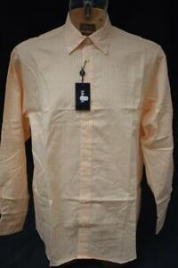 Mens-Orange-Checked-Ashworth-Golf-Long-Sleeved-Shirt-Size-Large-BNWT-Lot-GF24
