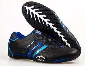 adidas originals goodyear adi racer low trainers black blue q23613 ebay. Black Bedroom Furniture Sets. Home Design Ideas