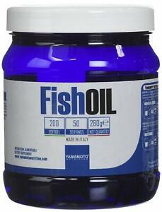 Yamamoto Nutrition Fish OIL integratore di acidi grassi essenziali Omega-3 200Pz