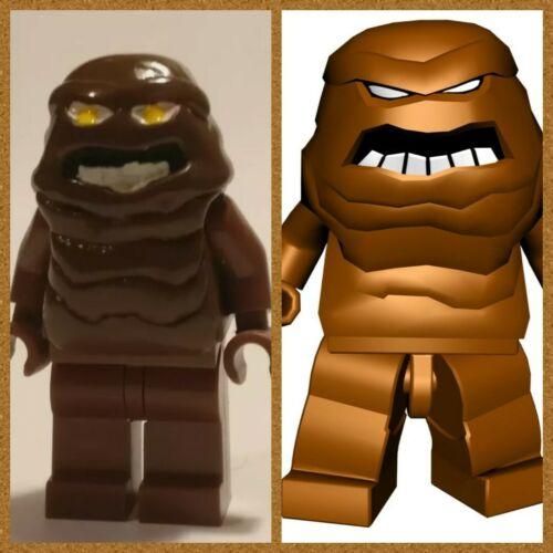 Lego Batman Clayface custom Head Super Héros