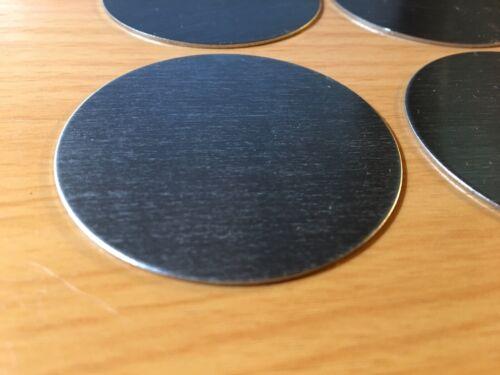 "Stainless Steel Disc x 2.25/"" Diameter .036 4pcs 20 gauge"