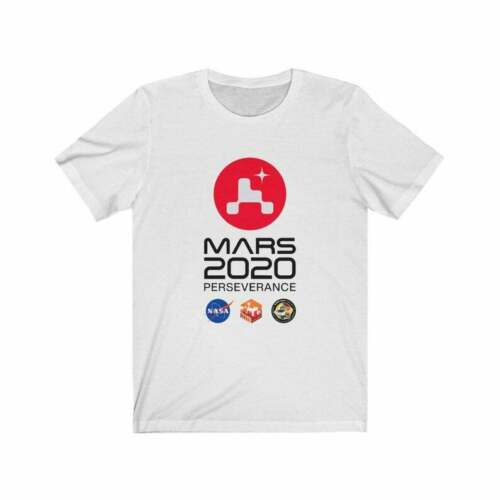 Mars 2020 Perseverance Rover Mission Patch Logo Identifier Unisex t Shirt