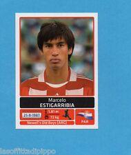 COPA AMERICA 2011 ARGENTINA-Figurina n.151- ESTIGARRIBIA -PARAGUAY-NEW BLACK
