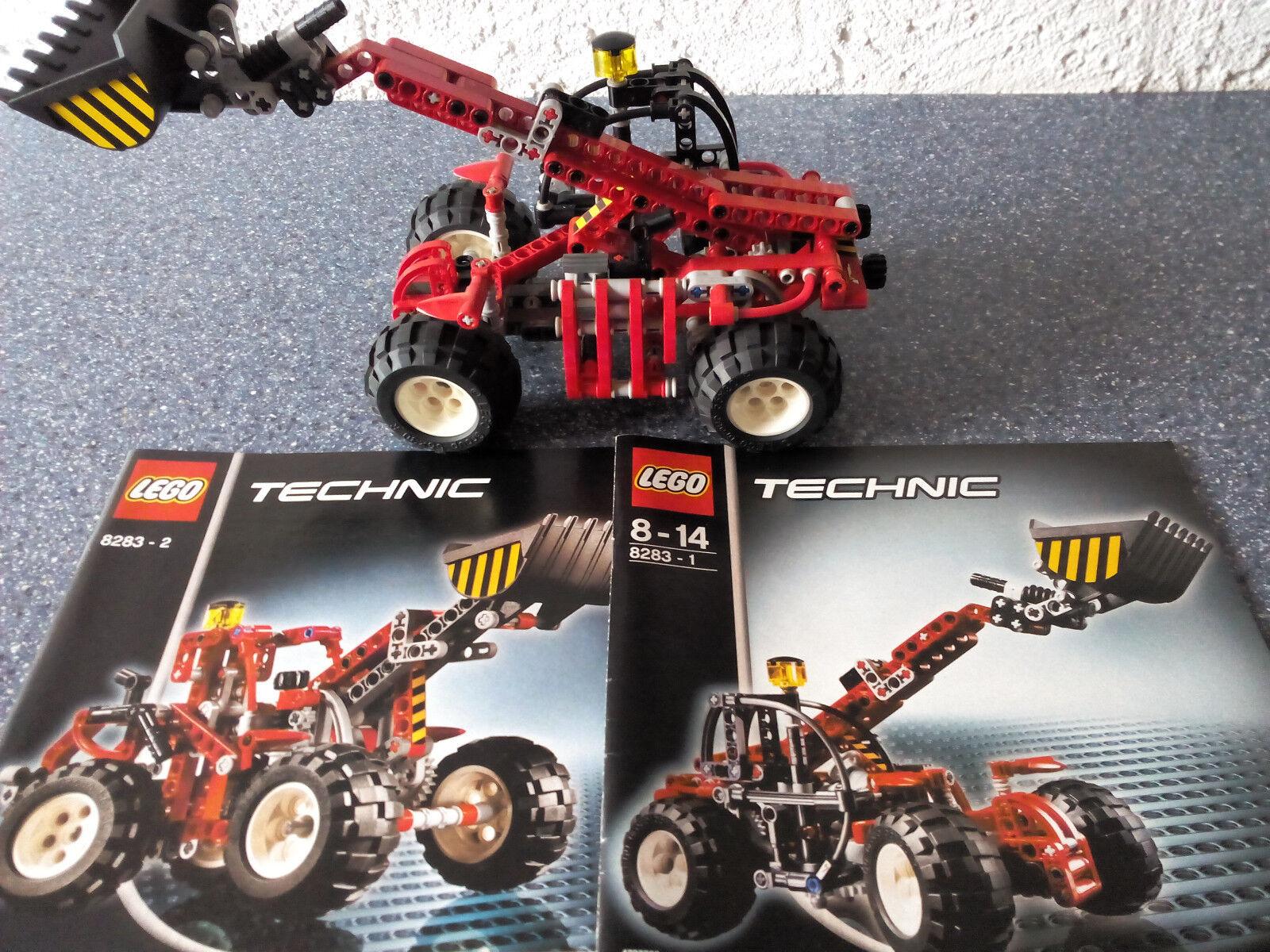 Lego Technic Technik 8283 Telehandler   GUTER ZUSTAND - Rarität