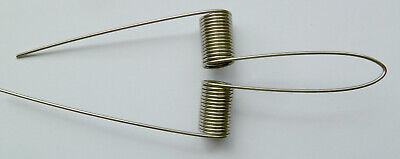 B-Tuba 4x Spiralfedern F-Tuba 0,9mm nirosta Federstahl D 7 mm,12 Windungen