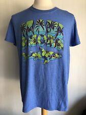845d0f10154 item 3 MAUI   SONS Official Hawaiian Print Shark Retro Blue Men s T-Shirt  Size Large -MAUI   SONS Official Hawaiian Print Shark Retro Blue Men s T- Shirt ...