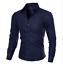 Men-039-s-Slim-Fit-Shirt-Long-Sleeve-Formal-Dress-Shirts-Casual-Shirts-Tops thumbnail 1
