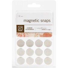 "Basic Grey Magnetic Snaps .625"" - 368826"