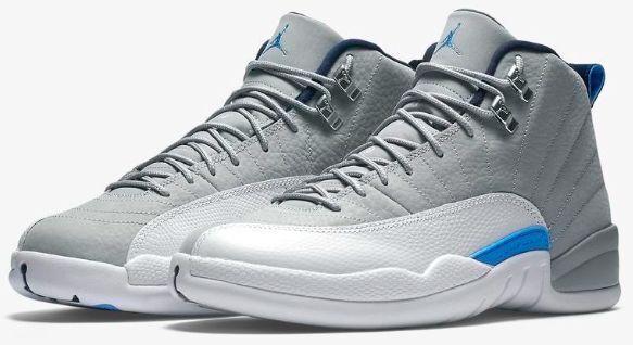 Nike air jordan xii retro - - retro 12 wolf grau, blau - weiße 130690-007 2016 unc - universität 3a69a4