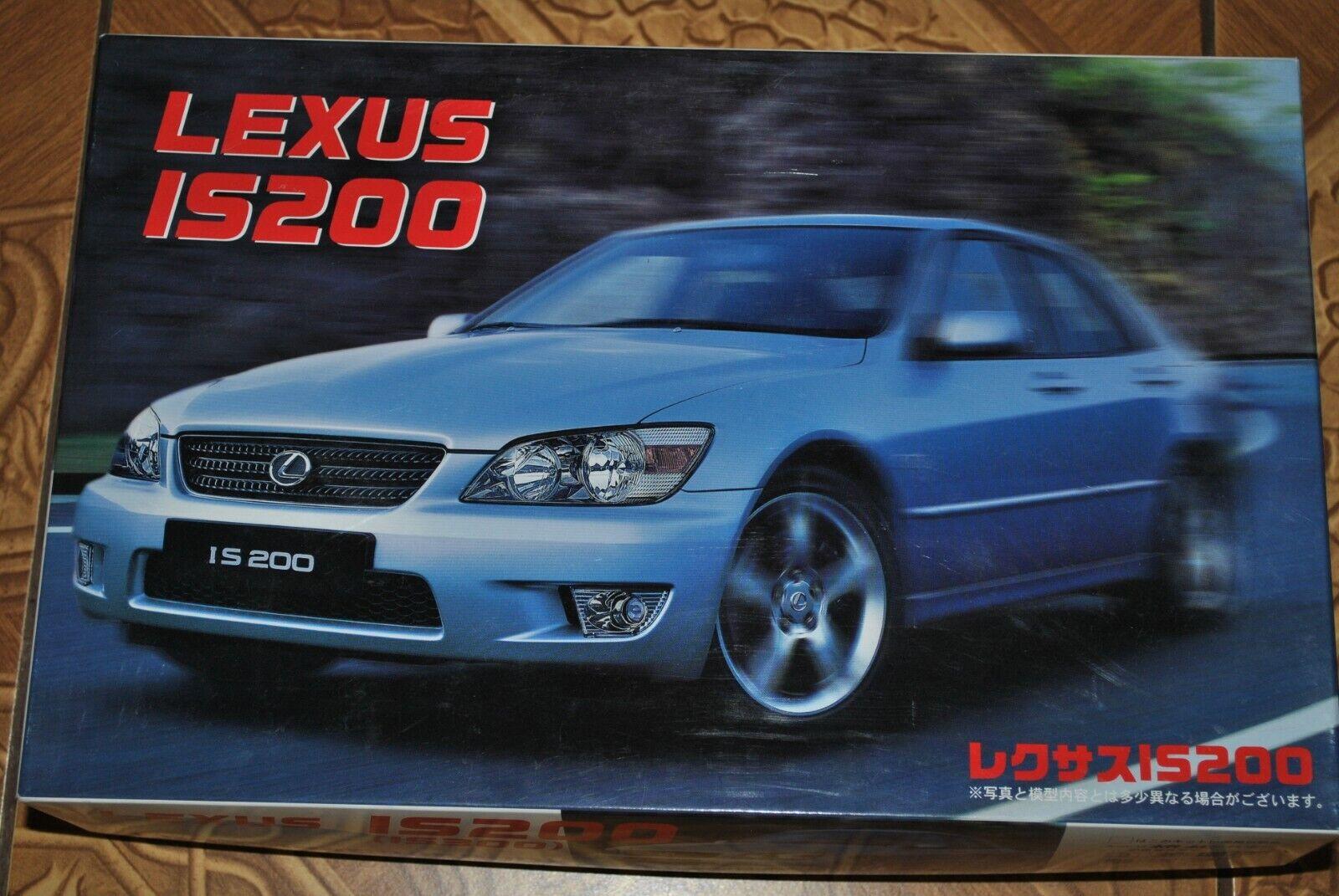 Lexus IS 200 (IS300) Fujimi 1 24 Sällsynt