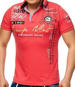 Herren Sport Polo Shirt mit Brusttasche Stretch Kurz-Arm M L XL 2XL 3XL