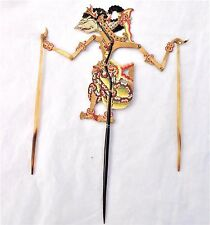 Antique c 1900 Java / Indonesian Shadow Puppet Sri Shinta Buffalo Horn and Hide