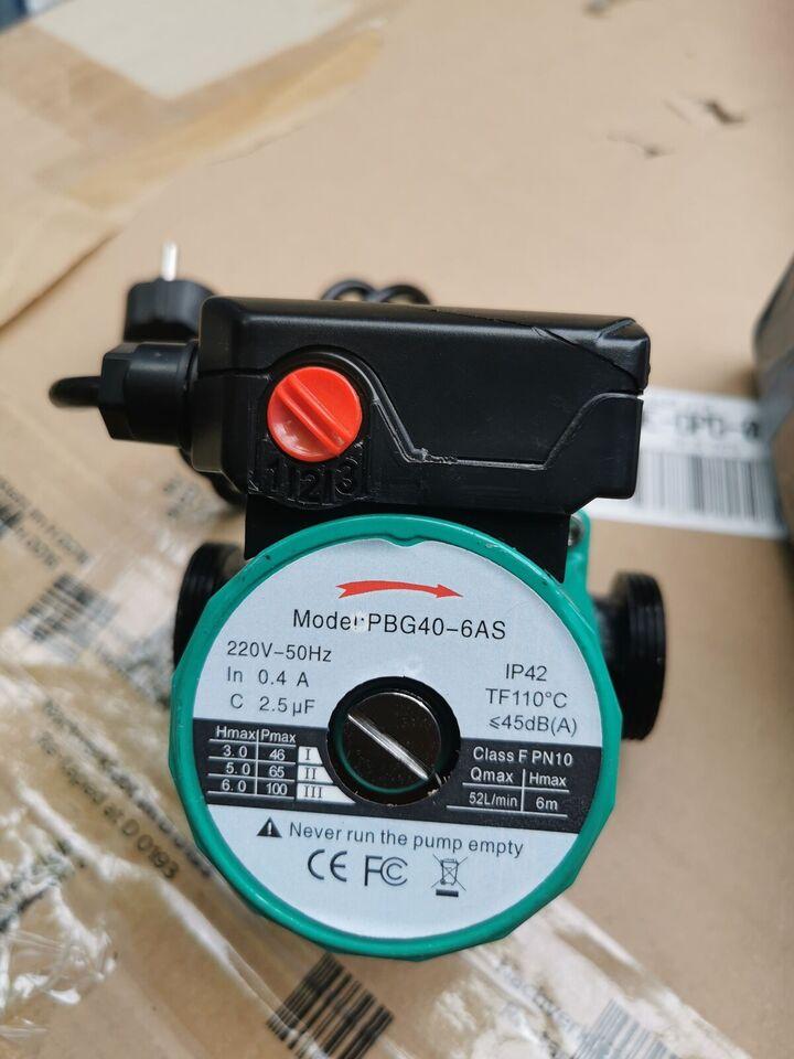 10 bar cirkulationspumpe varmepumpe 65 l / min