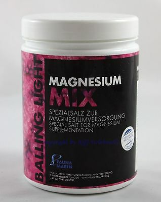 Magnesio Mix Fauna Marin 1kg Balling Light Spezialsalz Agua De Mar 12,49€/ Kg Long Performance Life Water Tests & Treatment Fish & Aquariums