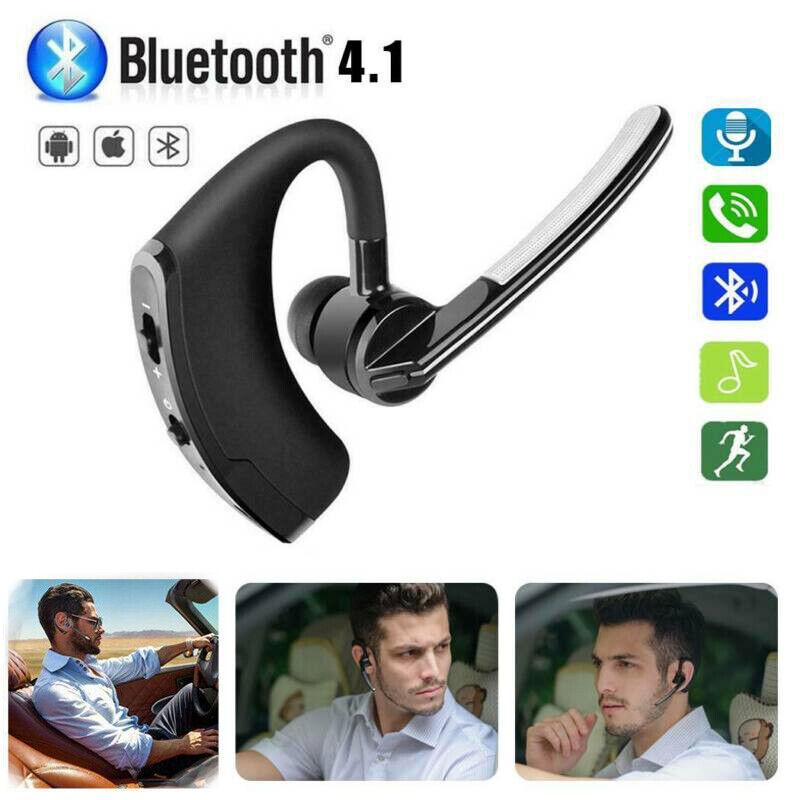 Slim Wireless Stereo Bluetooth Single Earpiece Headset For A