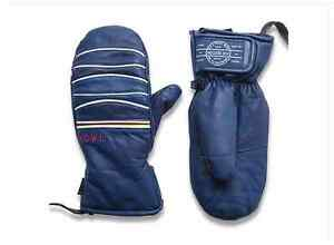 2015-NWT-MENS-HOWL-SEXTON-MITTENS-navy-blue-goatskin-leather-fleece-liner