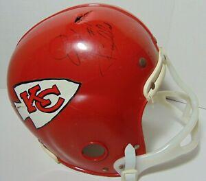 Vintage-1960s-70s-KANSAS-CITY-CHIEFS-NFL-FOOTBALL-REPLICA-HELMET-ED-BUDDE-SIGNED