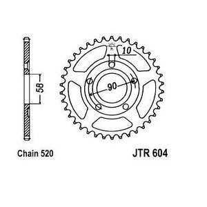 Kettenrad-JT-JTR604-44