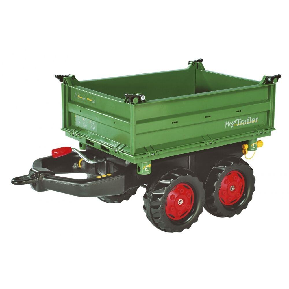 Rolly Rolly Rolly Toys Fendt Mega-Trailer Anhänger Kipper Dreiseitenkipper grün 168bfe