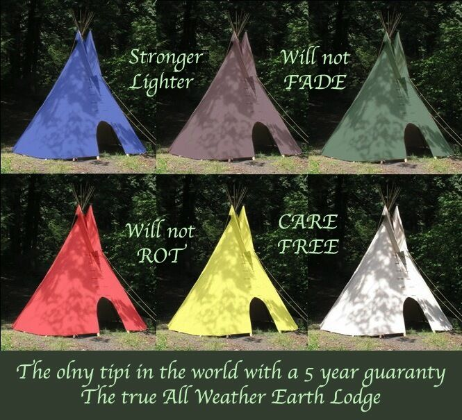 5 YEAR GUARANTY 20'  CHEYENNE STYLE tipi teepee  on sale 70% off