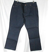 Vintage Mens Sears Roebucks Jeans Size 44 X 32 Actual 43 X 32 Boot Cut Tags