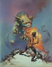 1994 Boris Vallejo The Magnificent Print / Book Page Suitable for Frame