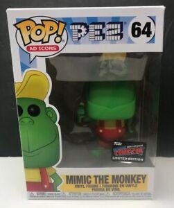 Funko-POP-icone-64-imitare-Monkey-NYCC-con-LIMITED-2019-Adesivo-Ufficiale