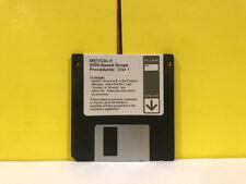 Fluke Metcal 5500 Based Scope Disk 1 Floppy Disk Software