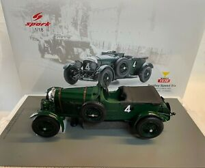 Spark Bentley Speed Six #4 Barnato Kidston winner 24h Le Mans 1930 1/18 18LM30