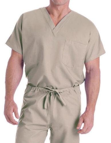 7502 FREE SHIPPING! Landau Unisex Short Sleeve V-Neck Scrub Top