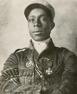French Foreign Legion African American Pilot Eugene Bullard 6x5