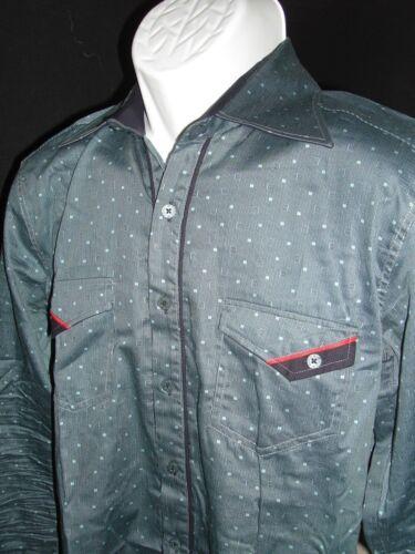 s estilo Dot mondo estilo Vestido Mondo italiano Sz Polka METRO italiano L camisa de ZX6czzWq